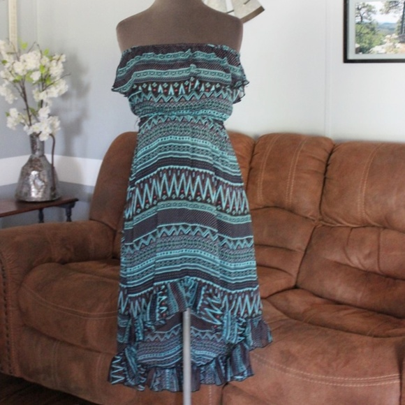 Rue21 Dresses & Skirts - Rue 21 Strapless High Low Dress Size Small